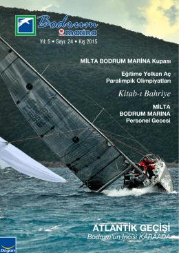 ATLANTİK GEÇİŞİ - Milta Bodrum Marina