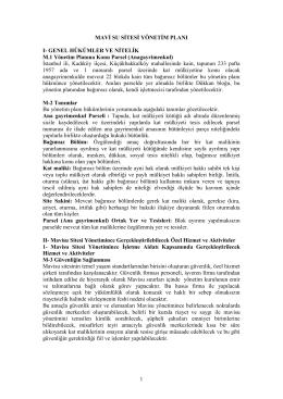 Site Yönetimi - Mavisu Residence