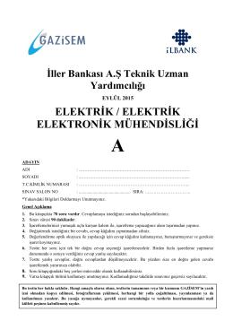 elektrik / elektrik elektronik mühendisliği