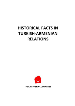 historical facts in turkish-armenian relations