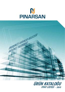 E-Katalog - Pınarsan Elektrik & Plastik
