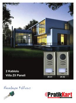 2K-91-92 Broşür - Pratik Kart | Akıllı Kart Geçiş Sistemleri