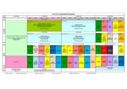 RAST 2015 CONFERENCE PROGRAM