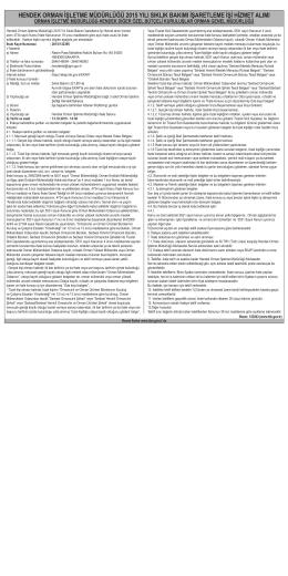 hendek orman işletme müdürlüğü 2015 yılı sıklık bakımı işaretleme