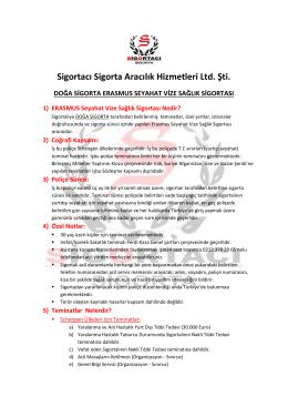 Sigortacı Sigorta Aracılık Hizmetleri Ltd. Şti.
