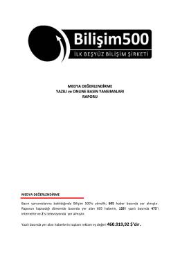 Basın - Bilişim 500