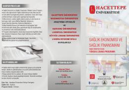 Hacettepe-Universitesi-Saglik-Ekonomisi-Saglik