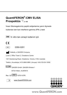 için QuantiFERON