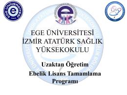 Ege Üniversitesi İzmir Atatürk Sağlık Yüksekokulu