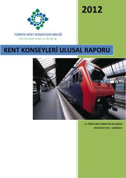 Kent Konseyleri Ulusal Raporu - Türkiye Kent Konseyleri Birliği