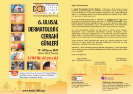 6.dermatolojik mailing - Dermatolojik Cerrahi Derneği