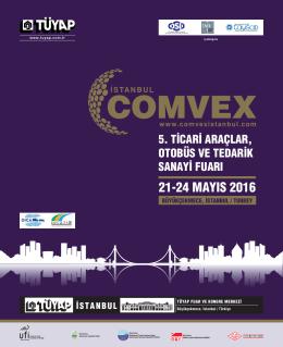 COMVEX İstanbul 2013 Fuarı Başarı 8
