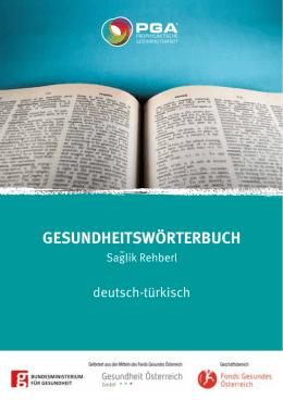 """Gesundheitswörterbuch """"Deutsch"""