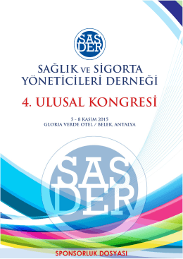 SPONSORLUK DOSYASI _2015.pub