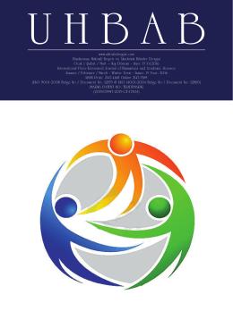UHBAB Uluslararası Hakemli Beşeri ve Akademik Bilimler Dergisi