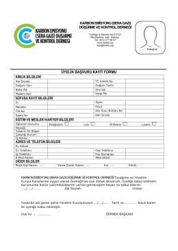 membership form.