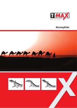 Konveyörler - T-Max