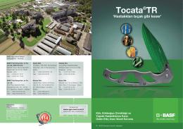 Tocata ® TR Broşür - BASF Türk Bitki Koruma
