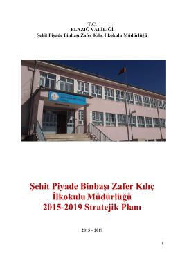 Şehit Piyade Binbaşı Zafer Kılıç İlkokuluMüdürlüğü