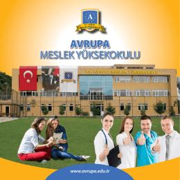 ameliyathane hizmetleri - Avrupa Meslek Yüksekokulu
