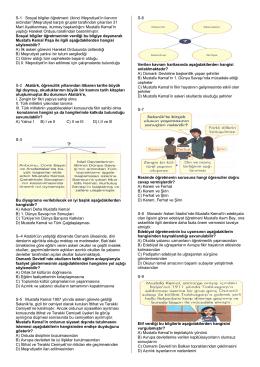 S-1 Sosyal bilgiler öğretmeni: (ikinci Meşrutiyet`in ilanının ardından