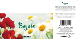 Bojole is a young and a lively wine made from