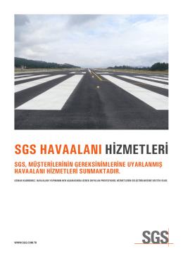 sgs havaalanı hizmetleri