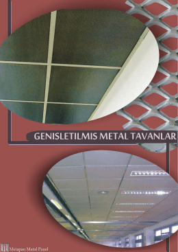 Genişletilmiş Metal Broşürü