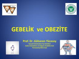 Gülseren Yücesoy - Türkiye Maternal Fetal Tıp ve Perinatoloji Derneği