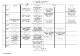 2015-2016 Güz Dönemi Lisansüstü Ders Programı