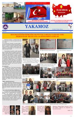 Yakamoz - BORNOVA - Şehit Teğmen Murat Aslantürk İlkokulu