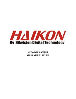 Haikon IP kamera sistemleri GÖRÜNTÜLE