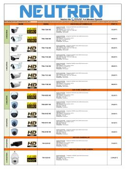 Neutron Güvenlik Kamerası ve Kayıt Cihazı Fiyatları