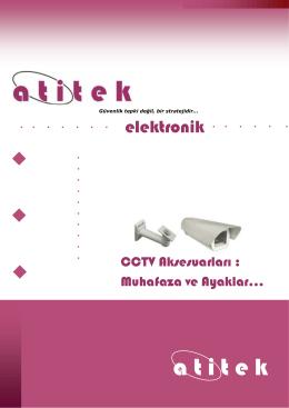 Muhafaza ve ayaklar - Atitek Elektronik LTD.