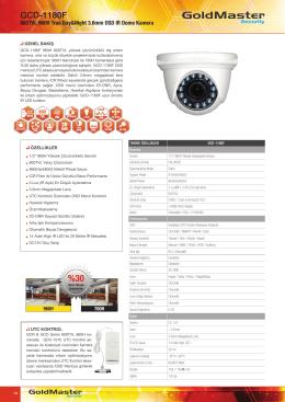 GCD-1180F Broşür