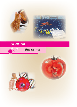 GENETİK - ANTAKYADOST