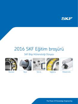SKF Türk 2016 Seminer Programı