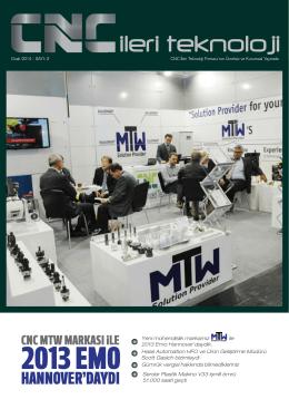 2013 EMO - CNC İleri Teknoloji ve Tic. Ltd. Şti.
