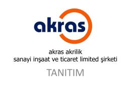 referanslar - Akras Akrilik
