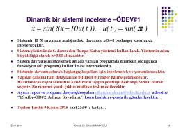 )t sin( )t(u )),t(u10x8sin( x = − =x