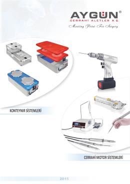 konteynır sistemleri cerrahi motor sistemleri