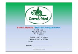 Sünnet-Merkezi - Beschneidungszentrum - Cerrah-Med