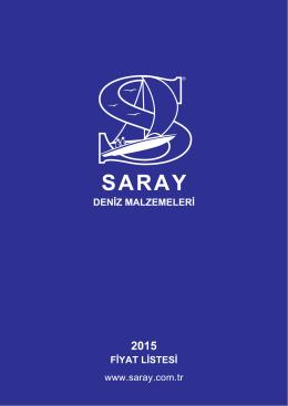 sipariş formu - Saray Deniz Malzemeleri