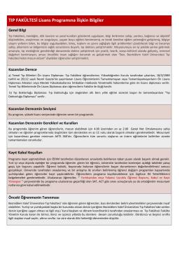 Tıp Fakültesi - Bezmialem Vakıf Üniversitesi