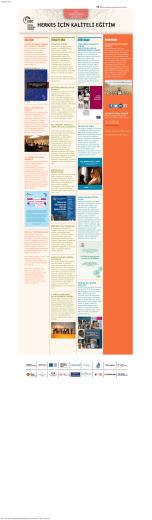 2015 Mayıs-Haziran - Herkes için Kaliteli Eğitim
