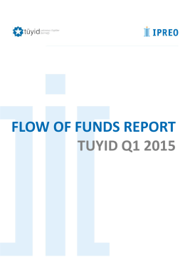 FLOW OF FUNDS REPORT TUYID Q1 2015