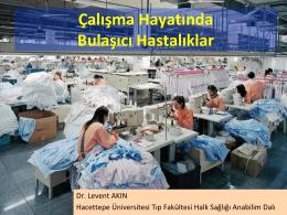 Çalışma Hayatında Bulaşıcı Hastalıklar - HİSAM