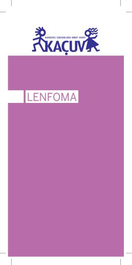 LENFOMA - Kanserli Çocuklara Umut Vakfı