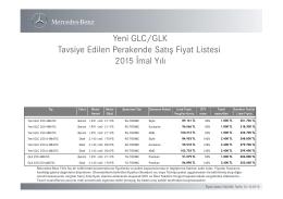 GLC Serisi - Otomobil Tavsiyesi