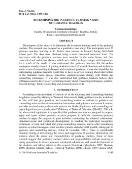 Pak. J. Statist. 2014 Vol. 30 (6), 1389